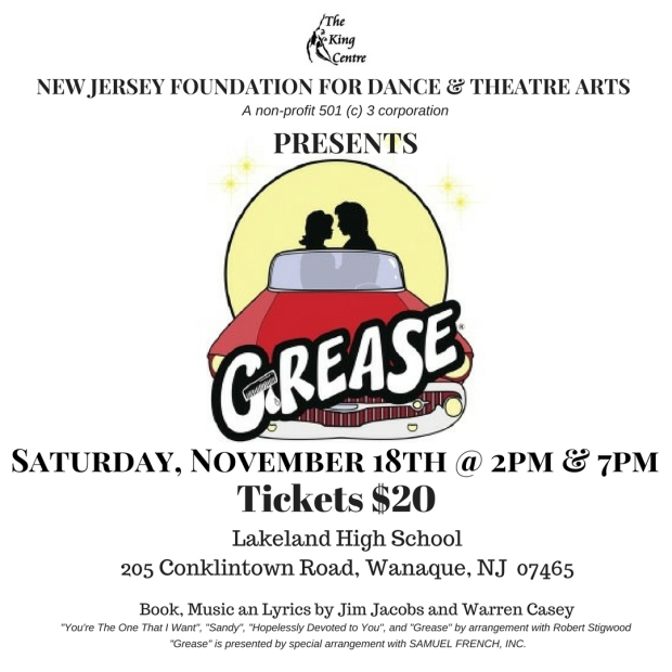 New Jersey Foundation for Dance & Theatre Arts Presents (3)
